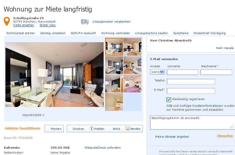 Wohnungsbetrug Blogspot Com Christianabbendroth Hotmail