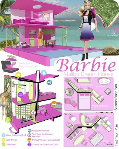 Schuetzdesign: American Architects Design Their Own Barbie