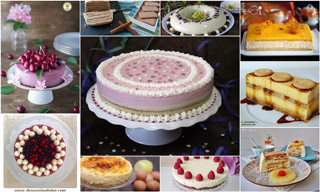 Tartas frías sin horno, Julia y sus recetas