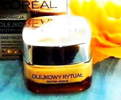 L'Oreal Nutri-Gold Olejkowy Rytuał