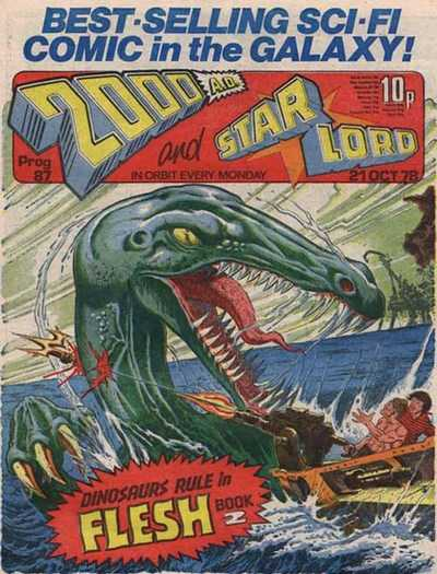 2000 AD and Star Lord, Prog 87, Flesh