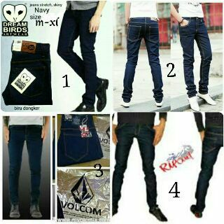 Celana Jeans Skinny Chaep Monday Pria