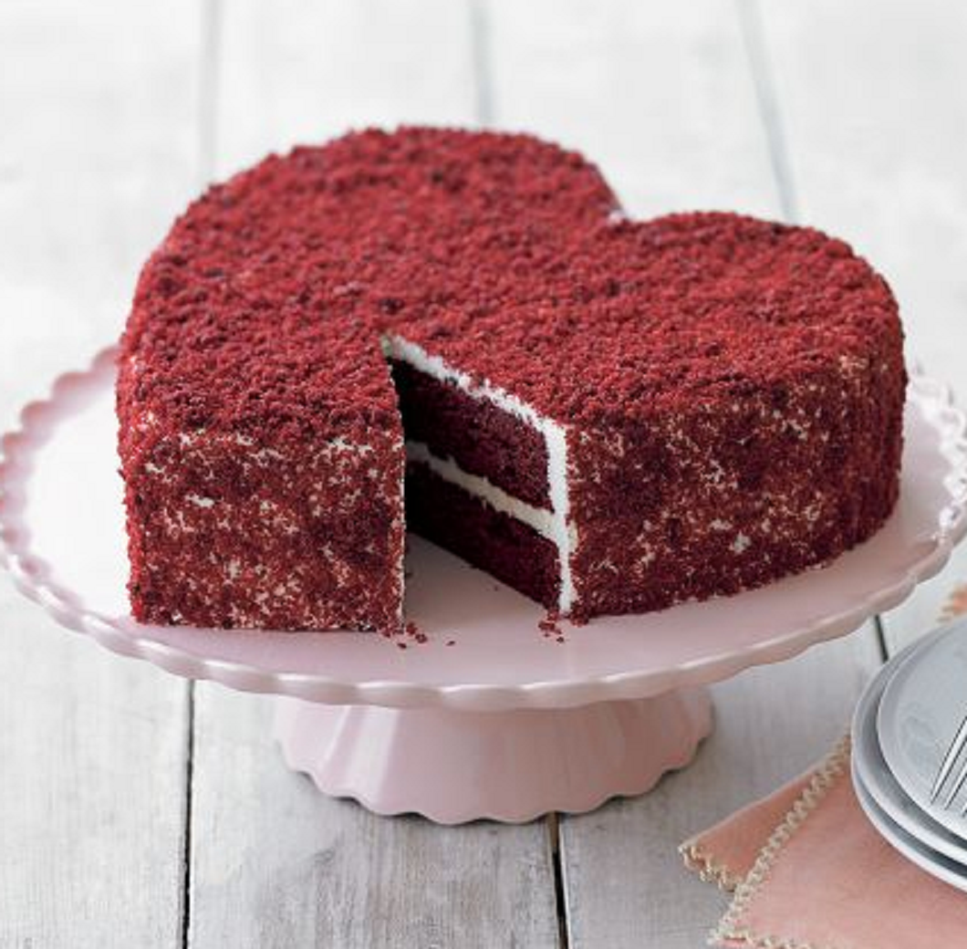 Valentine Chocolate Cakes Wallpaper