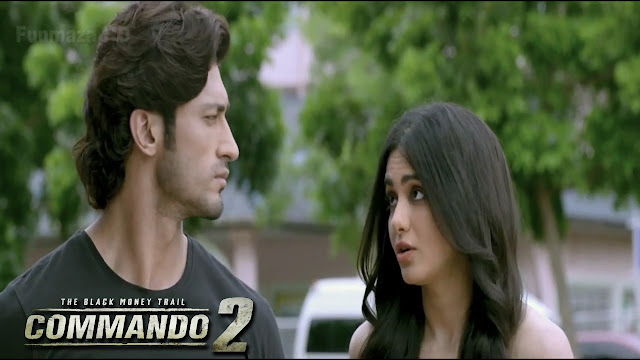 Commando 2 Movie Actress & Actor HD Wallpaper