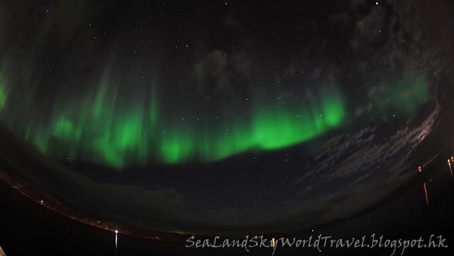 Kirkenes 挪威 Thon Hotel 北極光 aurora northern light