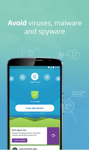 Avast Mobile security and antivirus