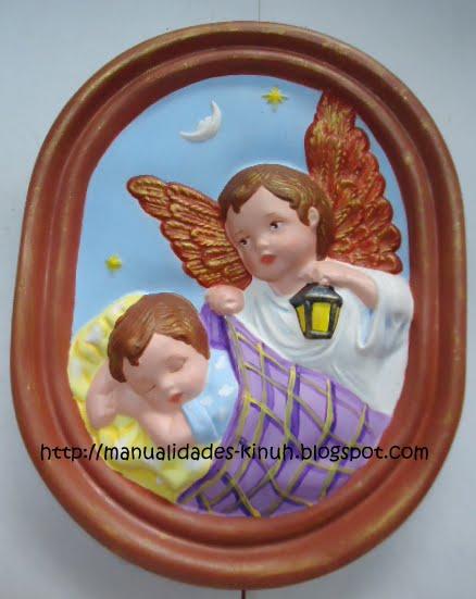 Manualides artcraft handcraft febrero 2013 - Angelitos de yeso ...
