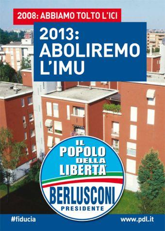 Alassiofutura italia il pdl per la campagna elettorale for Senato della repubblica diretta