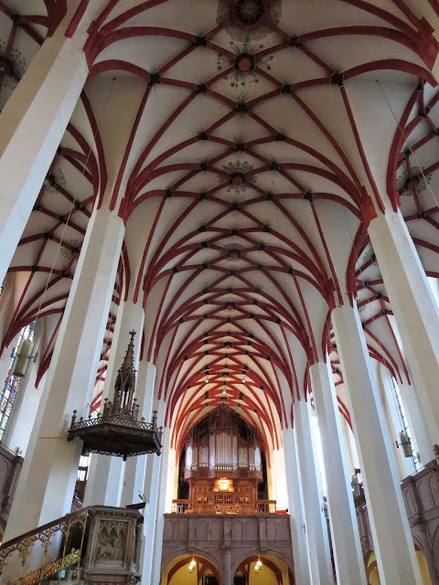 Points of interest in Leipzig Germany: Thomaskirche