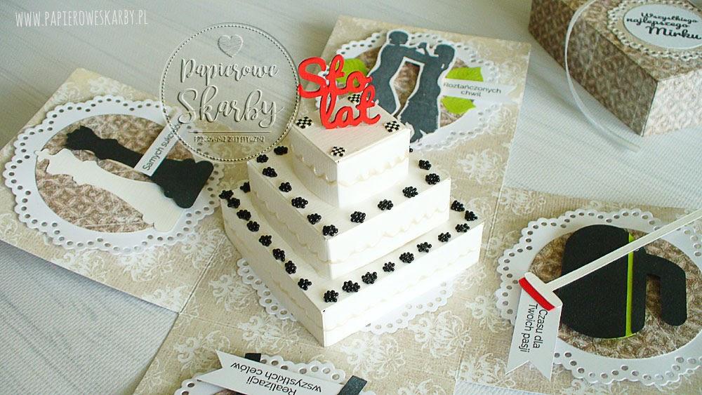 Kartka i Box na urodziny w męskim stylu