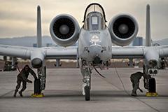 A-10 Thunderbolt II Attack Aircraft