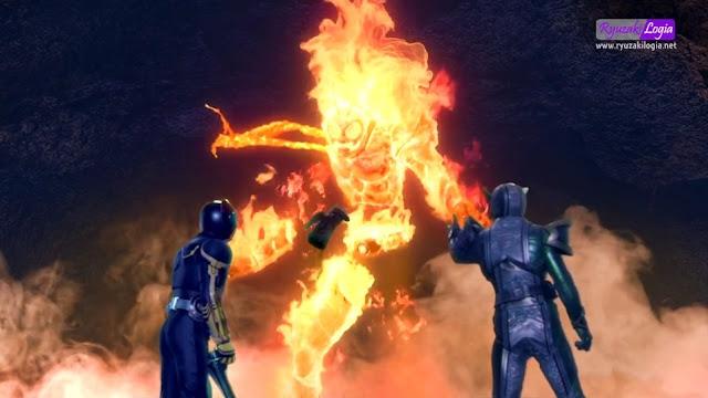 Kamen Rider × Kamen Rider OOO & W Featuring Skull: Movie War Core Subtitle Indonesia