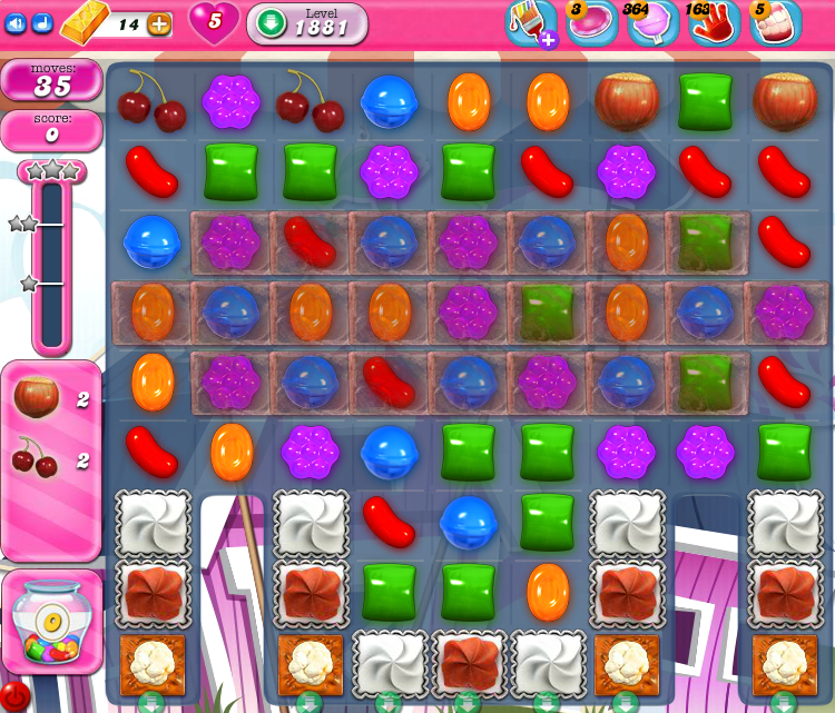 Candy Crush Saga 1881