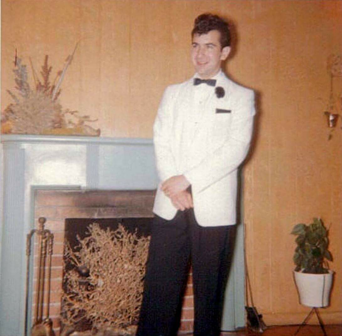 1950s Prom Hairstyles: Rare And Amazing Jerry Garcia's Prom Pics Surface, Include