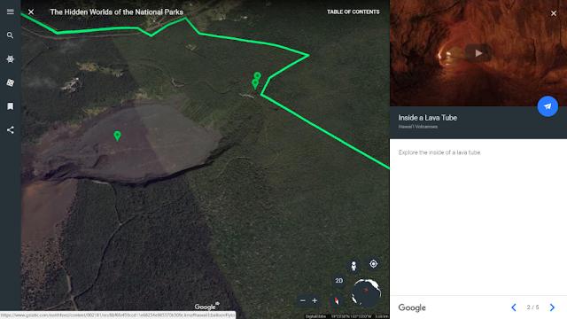 Desain baru Google Earth versi Web dan Android kini mendukung peta 3D