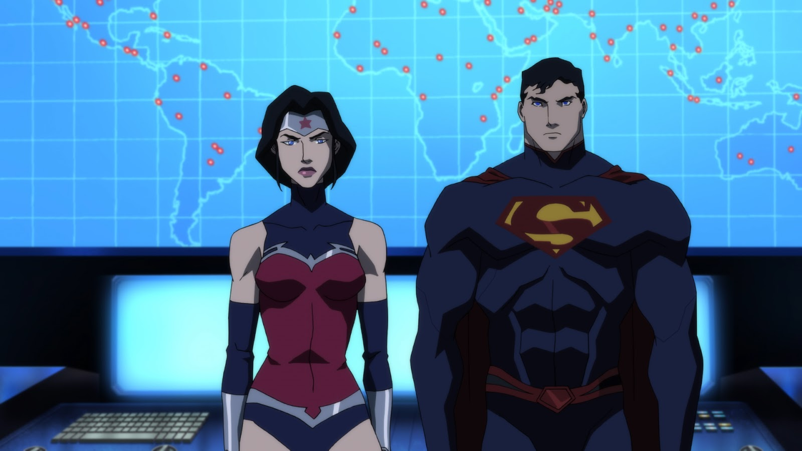 All New Justice League Dark Clip Features Superman Wonder Woman