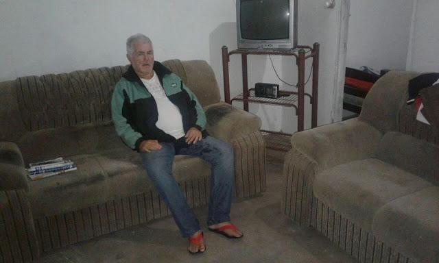 Com ajuda da Prefeitura de Delmiro Gouveia Idoso reencontra família
