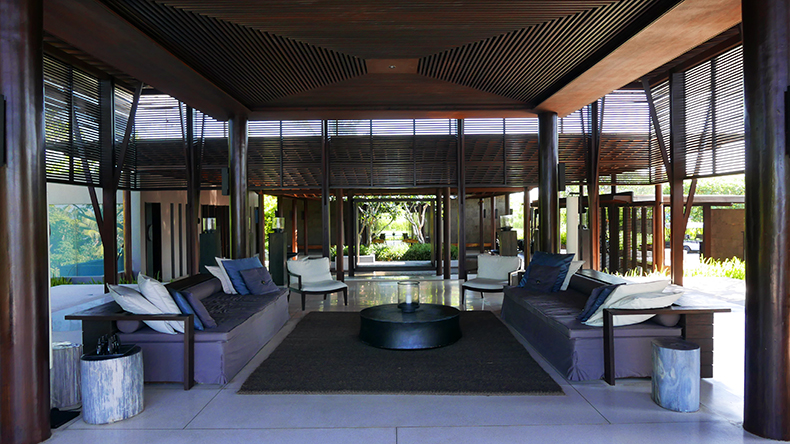 Euriental | fashion & luxury travel | Alila Soori lobby, Bali