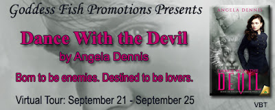 VBT & #GIVEAWAY - Dance with the Devil by Angela Dennis