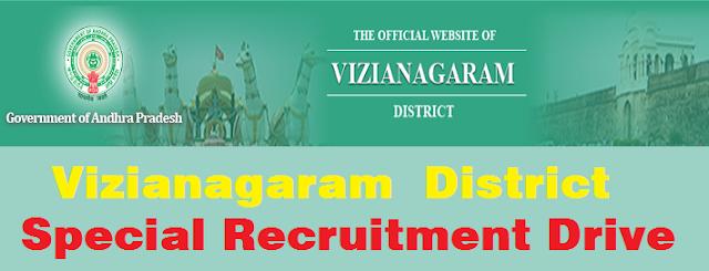 Vizianagaram,Special Recruitment Drive,Disabled candidates