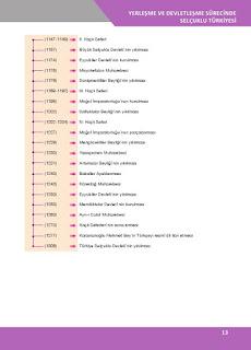 10. Sınıf Tarih Ders Kitabı Cevapları İlke Yayınları Sayfa 13
