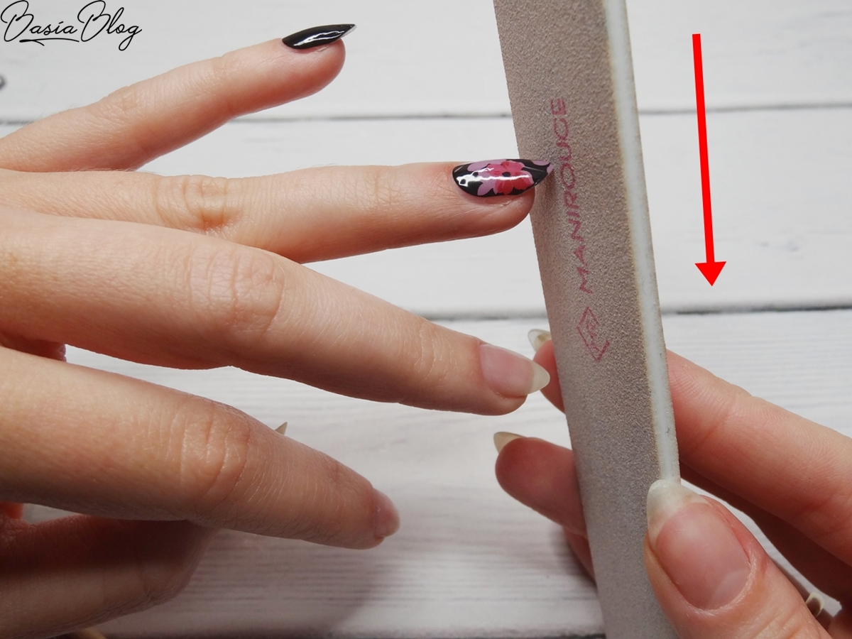 naklejki termiczne na paznokcie krok po kroku