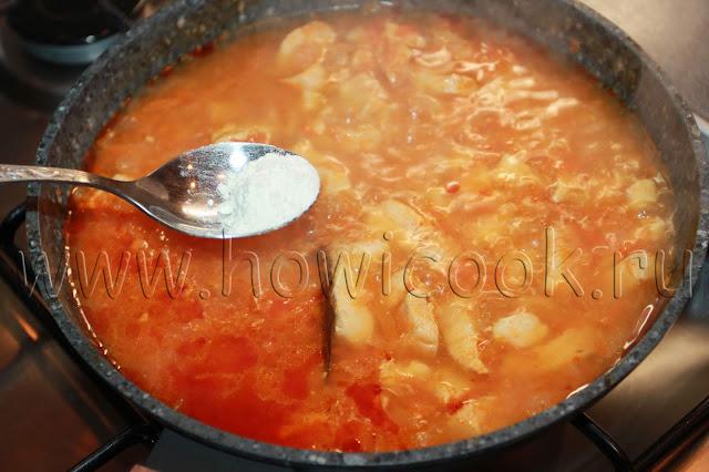 рецепт курицы в томатной подливе с пошаговыми фото