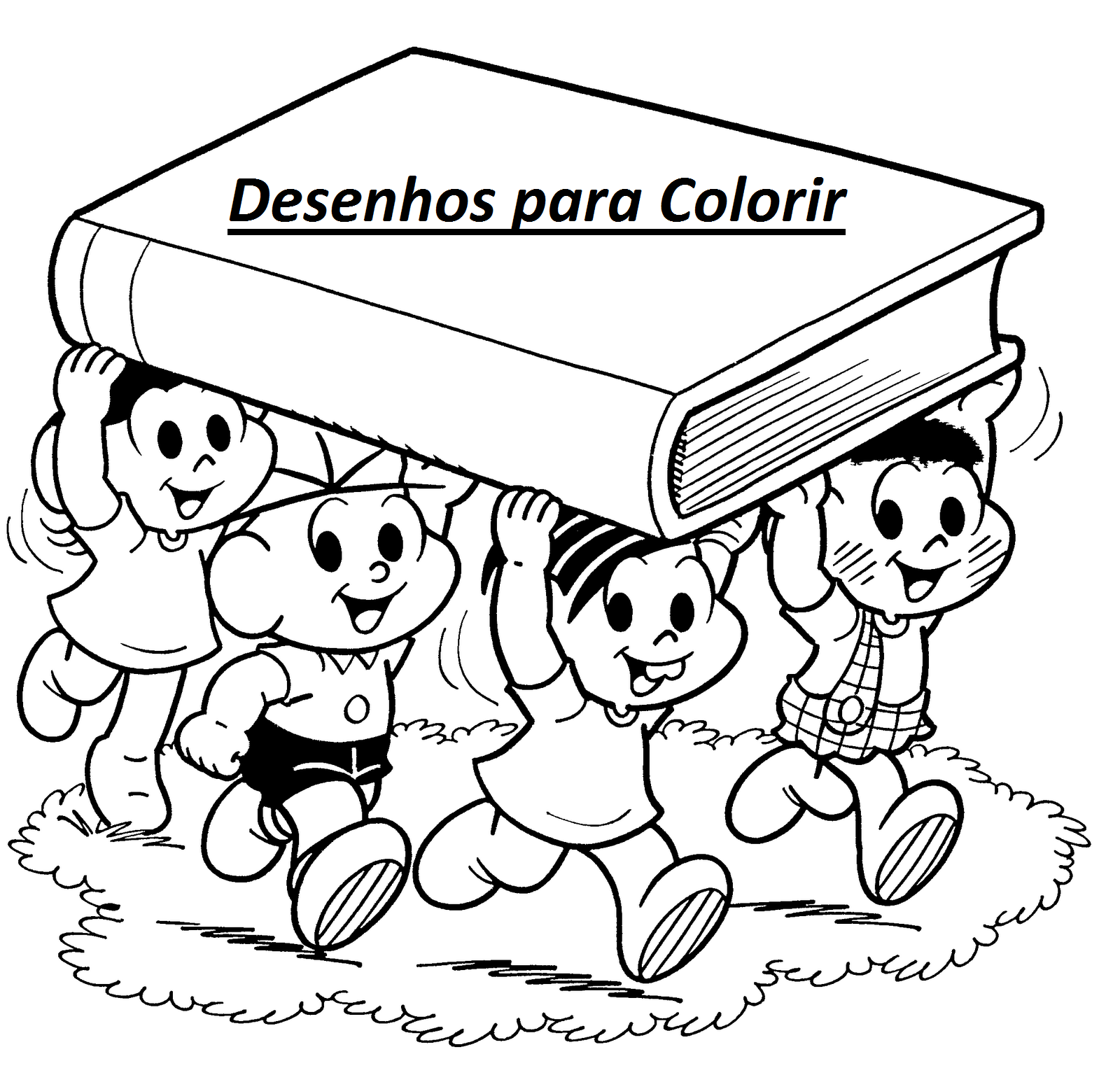 lista de desenhos para pintar e colorir sÓ escola