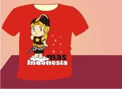 Kaos Mas Indonesia by papaNanda