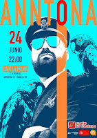 Concierto de Anntona en Café la Palma