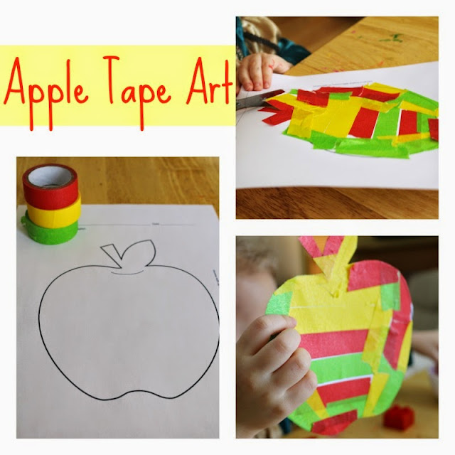 10 Apples Up On Top Activities