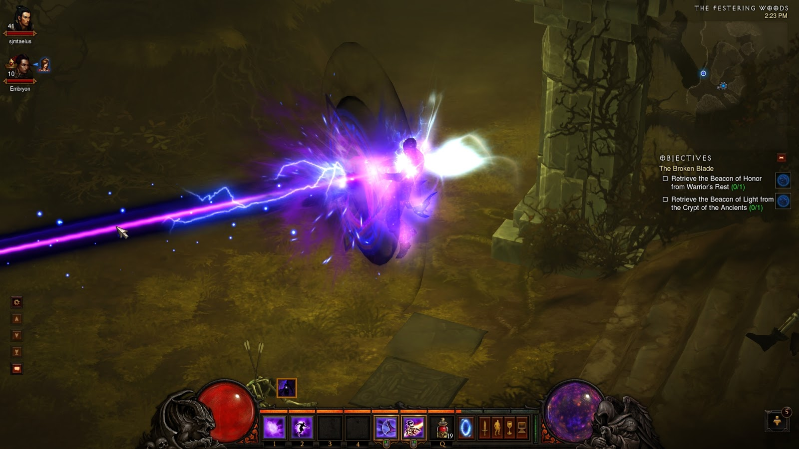 diablo 3 21 wizard archon build