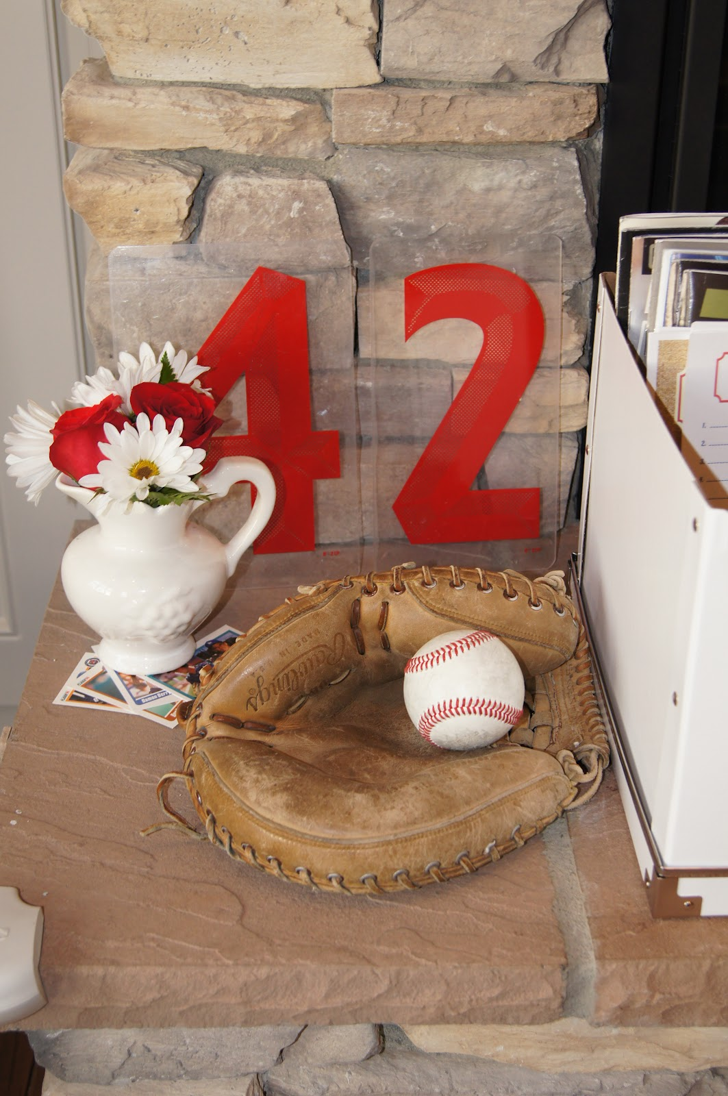 A Vintage Baseball Themed Baby Shower