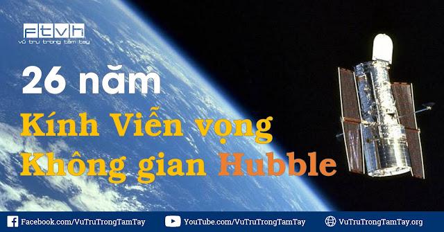Ngày này năm xưa : Kính Viễn vọng Không gian Hubble bay vào không gian.