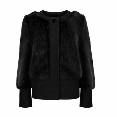 Ted Baker Farika Faux Fur Jacket