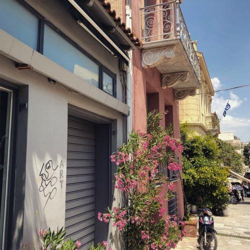 Athens Greece Plaka neighborhood