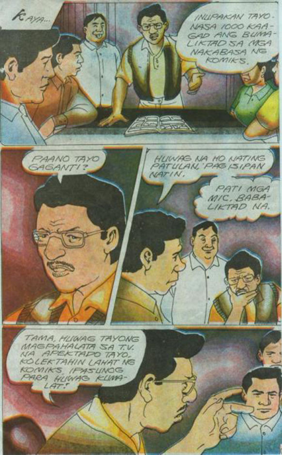 Dating daan komiks cult