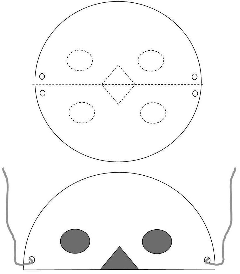 Paper Plate Lion Mask Template & Sc 1 St DLTK-Kids