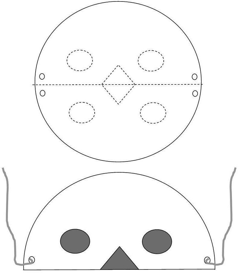 Paper Plate Lion Mask Template & Sc 1 St DLTK-Kids