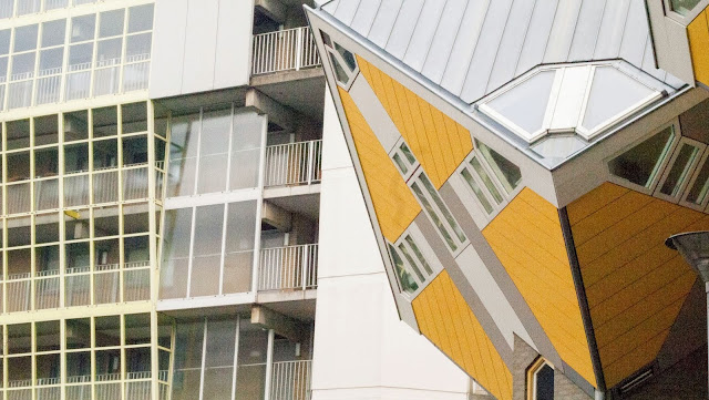Top places to visit in the Netherlands: Cube house in Rotterdam
