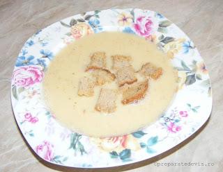 Supa de bere cu crutoane retete culinare,