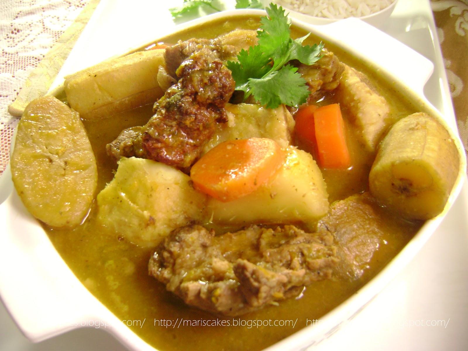 Receta de sancocho dominicano recetas dominicanas for Cocina dominicana