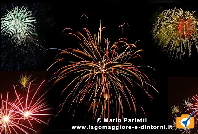 Estate 2015, fuochi d'artificio in canton Ticino