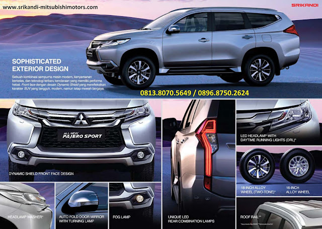 fitur-fitur new mitsubishi pajer sport 2017