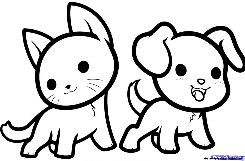 Cute Animal Drawings Easy | Wallpapers Gallery