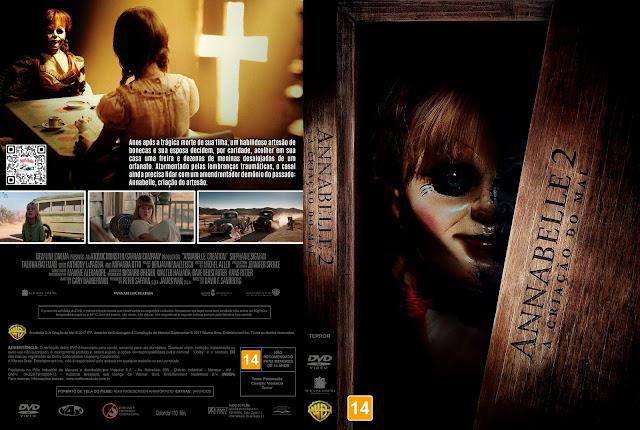 Capa DVD Annabelle 2 A Criação do Mal [Exclusiva]