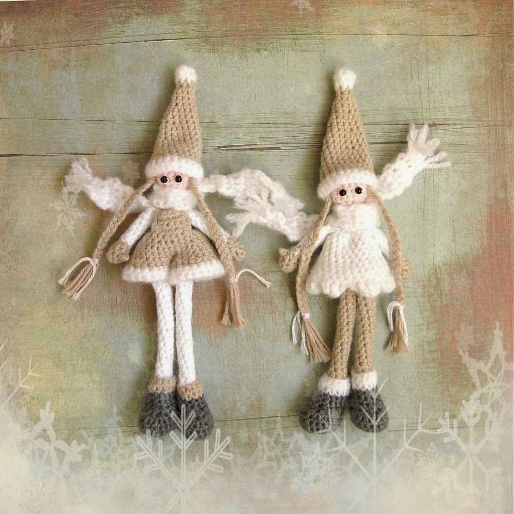 crocheted gnomes