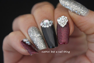 glitter nail art ideas