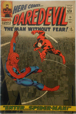 Daredevil #16, Spider-Man