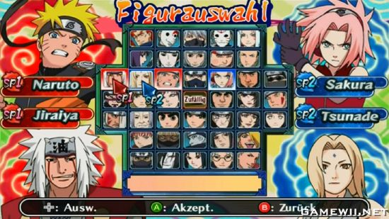 naruto games for ds download